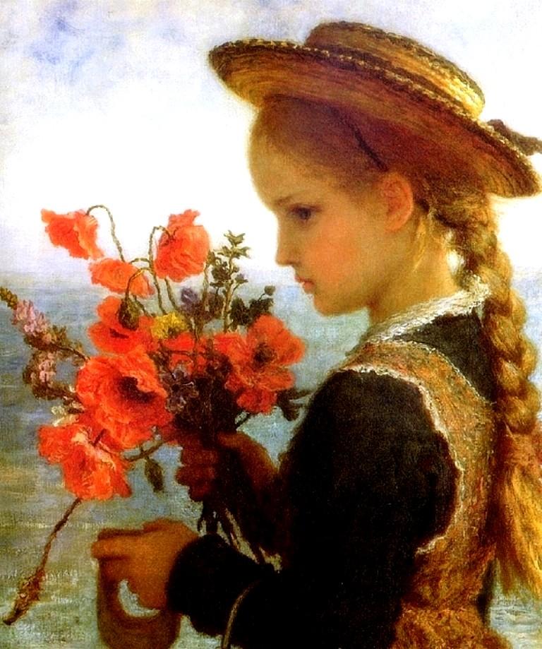 Poppy Girl, Karl Wilhelm Friedrich Bauerle
